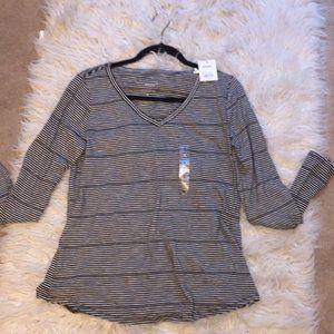 NWT Long Sleeve Striped Shirt